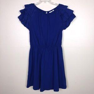 Gap kids Girls Blue Short Sleeve Dress Size 8 M